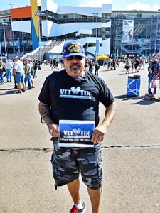 Hector M. attended 2018 TicketGuardian 500 - Monster Energy NASCAR Cup Series on Mar 11th 2018 via VetTix