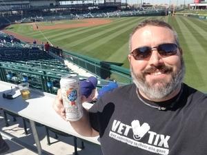 Richard attended Chicago Cubs vs. Chicago White Sox - MLB Spring Training on Feb 27th 2018 via VetTix