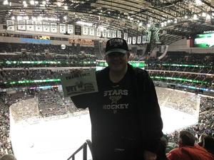 Mark attended Dallas Stars vs. Tampa Bay Lightning - NHL on Mar 1st 2018 via VetTix