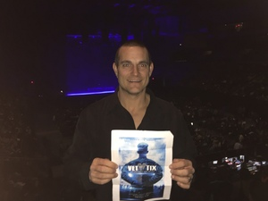 Justin attended Lorde: Melodrama World Tour on Mar 2nd 2018 via VetTix