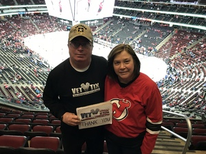 Robert attended New Jersey Devils vs. Toronto Maple Leafs - NHL - 21 Squad Tickets With Player Meet & Greet! on Apr 5th 2018 via VetTix