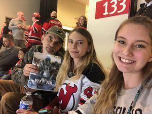 james Rossmeissl attended New Jersey Devils vs. Toronto Maple Leafs - NHL - 21 Squad Tickets With Player Meet & Greet! on Apr 5th 2018 via VetTix