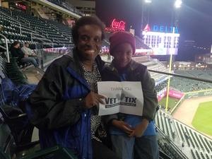Stephanie attended Atlanta Braves vs. Braves Future Stars - MLB Exhibition on Mar 27th 2018 via VetTix