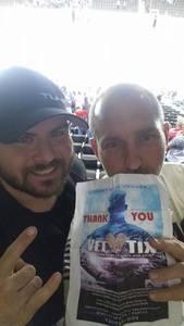 Chris attended Jacksonville Icemen vs. Reading Royals - ECHL on Mar 2nd 2018 via VetTix
