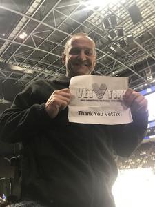 greg attended Jacksonville Icemen vs. Reading Royals - ECHL on Mar 2nd 2018 via VetTix