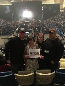 Jeffrey attended Cole Swindell Special Guests: Chris Janson and Lauren Alaina (american Idol) on Mar 9th 2018 via VetTix