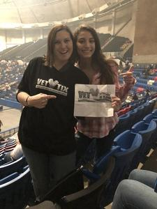 Benjamin attended Cole Swindell Special Guests: Chris Janson and Lauren Alaina (american Idol) on Mar 9th 2018 via VetTix
