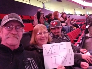 William attended Lorde: Melodrama World Tour on Mar 10th 2018 via VetTix