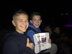 Michael attended Lorde: Melodrama World Tour on Mar 10th 2018 via VetTix