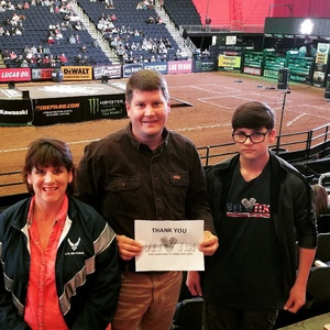 Sara attended PBR - 25th Anniversary - Unleash the Beast - Tickets Good for Sunday Only. on Mar 11th 2018 via VetTix