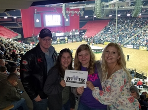 Bobby attended PBR - 25th Anniversary - Unleash the Beast - Tickets Good for Sunday Only. on Mar 11th 2018 via VetTix