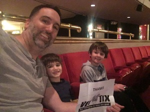 Doug attended Seussical the Musical on Apr 26th 2018 via VetTix