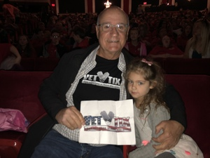 Paul attended Seussical the Musical on Apr 26th 2018 via VetTix