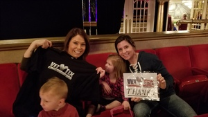 Michelle attended Seussical the Musical on Apr 26th 2018 via VetTix