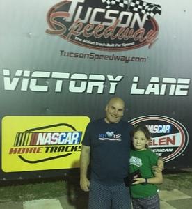 Sveno attended Tucson Speedway: Double Trouble on Mar 31st 2018 via VetTix