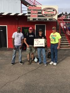Gerald attended Tucson Speedway: Double Trouble on Mar 31st 2018 via VetTix