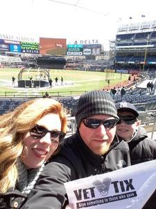 peter attended New York Yankees vs. Baltimore Orioles - MLB on Apr 8th 2018 via VetTix