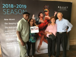James attended Today's Masters Performed by Ballet Arizona - Matinee on Mar 24th 2018 via VetTix