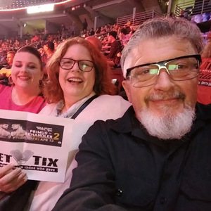 Michael attended Bellator 197 - Primus vs. Chandler 2 - Mixed Martial Arts - Presented by Bellator MMA on Apr 13th 2018 via VetTix
