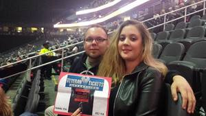 Yvette attended Bon Jovi - This House Is Not for Sale Tour on Mar 17th 2018 via VetTix