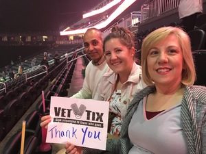 Elaine attended Bon Jovi - This House Is Not for Sale Tour on Mar 17th 2018 via VetTix