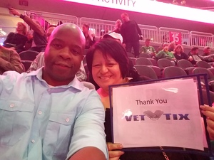 Jamey attended Bon Jovi - This House Is Not for Sale Tour on Mar 17th 2018 via VetTix
