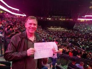 Carl attended Bon Jovi - This House Is Not for Sale Tour on Mar 17th 2018 via VetTix