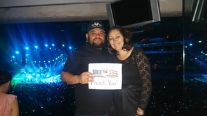 George attended Romeo Santos Golden Tour - Live in Concert - Suite Level Seating on Mar 29th 2018 via VetTix