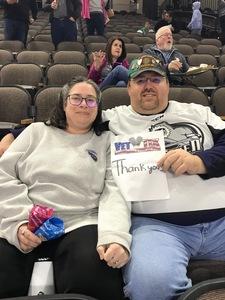 Hilbert attended Jacksonville Icemen vs. South Carolina Stingrays on Mar 31st 2018 via VetTix