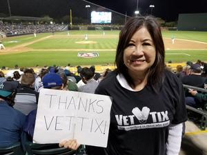 Ronald attended Oakland Athletics vs. Seattle Mariners - MLB Spring Training on Mar 15th 2018 via VetTix