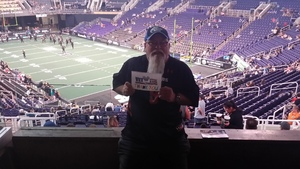 Noel attended Arizona Rattlers vs. Green Bay Blizzard - IFL - Suite Seating on Apr 21st 2018 via VetTix