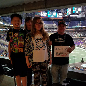 Bruce attended Arizona Rattlers vs. Green Bay Blizzard - IFL - Suite Seating on Apr 21st 2018 via VetTix