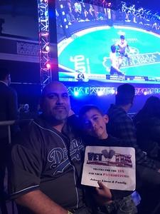 John attended Combate Estrellas I - MMA in Los Angeles - Mixed Martial Arts - Presented by Combate Americas on Apr 13th 2018 via VetTix
