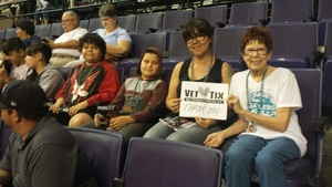 Marilynn attended Arizona Rattlers vs Nebraska Danger - IFL on Mar 24th 2018 via VetTix