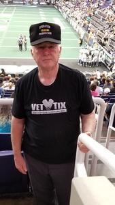 Joseph attended Arizona Rattlers vs Nebraska Danger - IFL on Mar 24th 2018 via VetTix