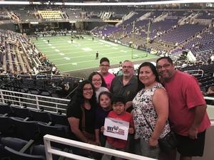 jason attended Arizona Rattlers vs Nebraska Danger - IFL on Mar 24th 2018 via VetTix