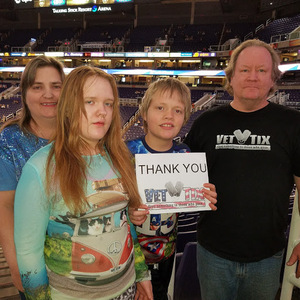 Bruce attended Phoenix Suns vs. Detroit Pistons - NBA on Mar 20th 2018 via VetTix