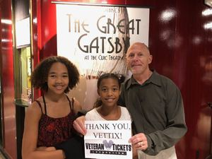 Byron attended The Great Gatsby on Apr 6th 2018 via VetTix