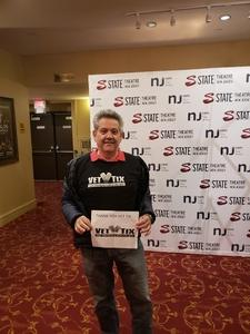 Evelio attended Mummenschanz - YOU AND ME on Mar 18th 2018 via VetTix