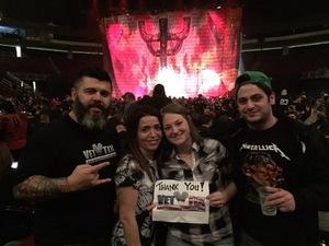 Hugo attended Judas Priest Firepower Tour 2018 on Mar 20th 2018 via VetTix