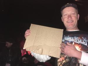 Tom attended Judas Priest Firepower Tour 2018 on Mar 20th 2018 via VetTix
