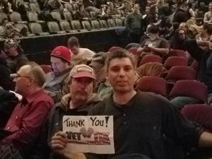 michael attended Judas Priest Firepower Tour 2018 on Mar 20th 2018 via VetTix