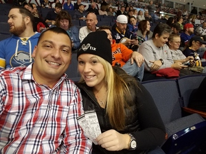 Kwan attended Rochester Americans vs. Syracuse Crunch - AHL on Apr 11th 2018 via VetTix
