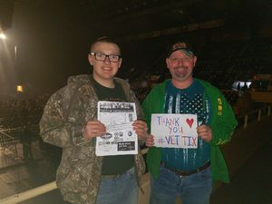 Charles attended Cole Swindell Special Guests: Chris Janson and Lauren Alaina (american Idol) on Mar 23rd 2018 via VetTix