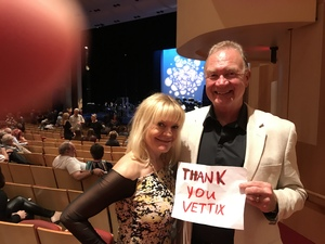 John attended The Great American Songbook With Storm Large on Mar 23rd 2018 via VetTix