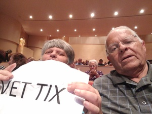 Leslie attended The Great American Songbook With Storm Large on Mar 23rd 2018 via VetTix