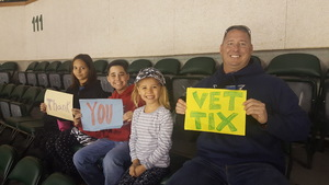 Tommy attended Texas Stars vs. Rockford Icehogs - Military Appreciation Game - AHL on Apr 7th 2018 via VetTix