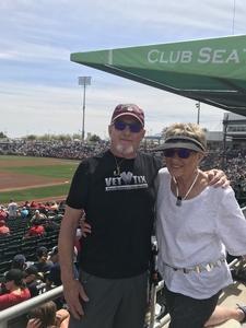 Harland attended Cleveland Indians vs. Cincinnati Reds - MLB Spring Training on Mar 25th 2018 via VetTix