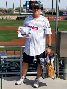 KEITH attended Cleveland Indians vs. Cincinnati Reds - MLB Spring Training on Mar 25th 2018 via VetTix