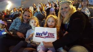 Trudy attended Disney on Ice Frozen - Sunday Evening on Mar 25th 2018 via VetTix
